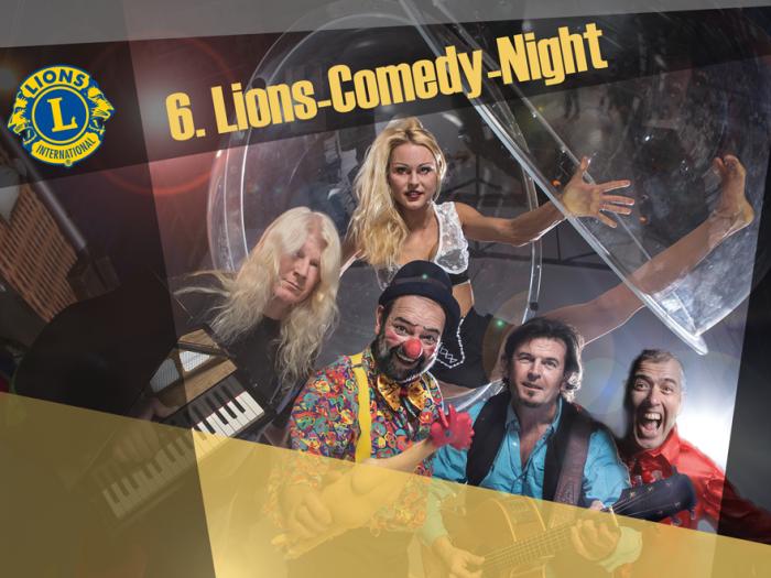 Lions Comedy Night